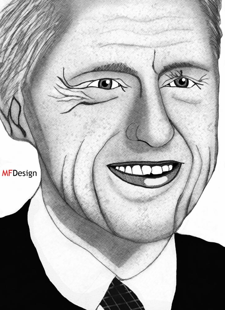 Bill Clinton by merytamon